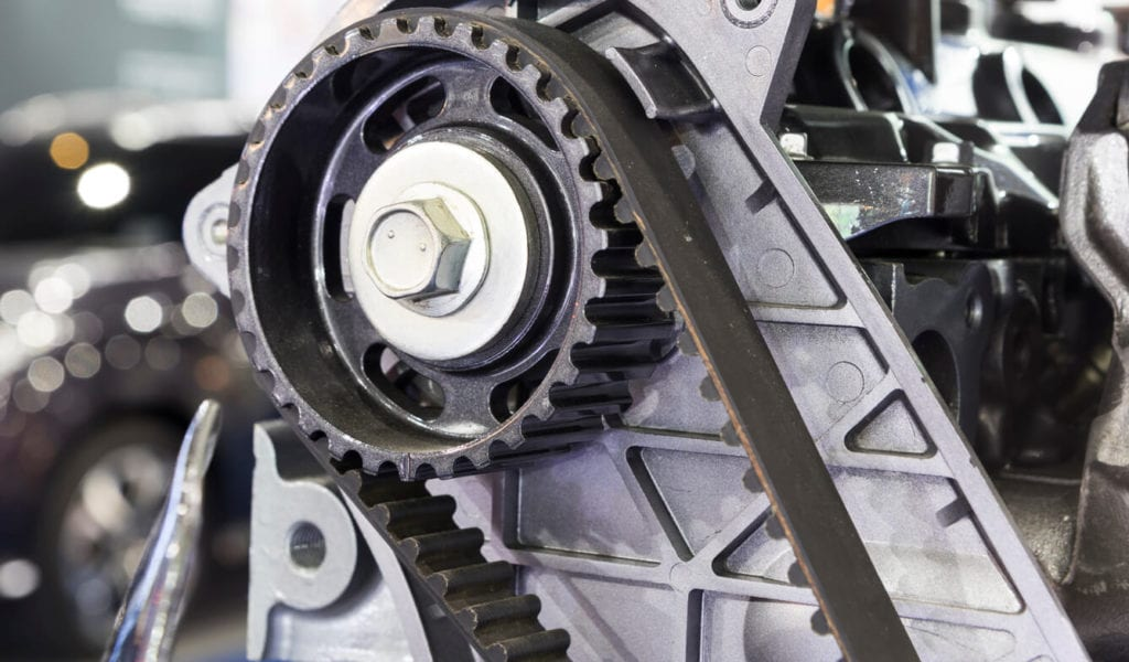 how does a timing belt work