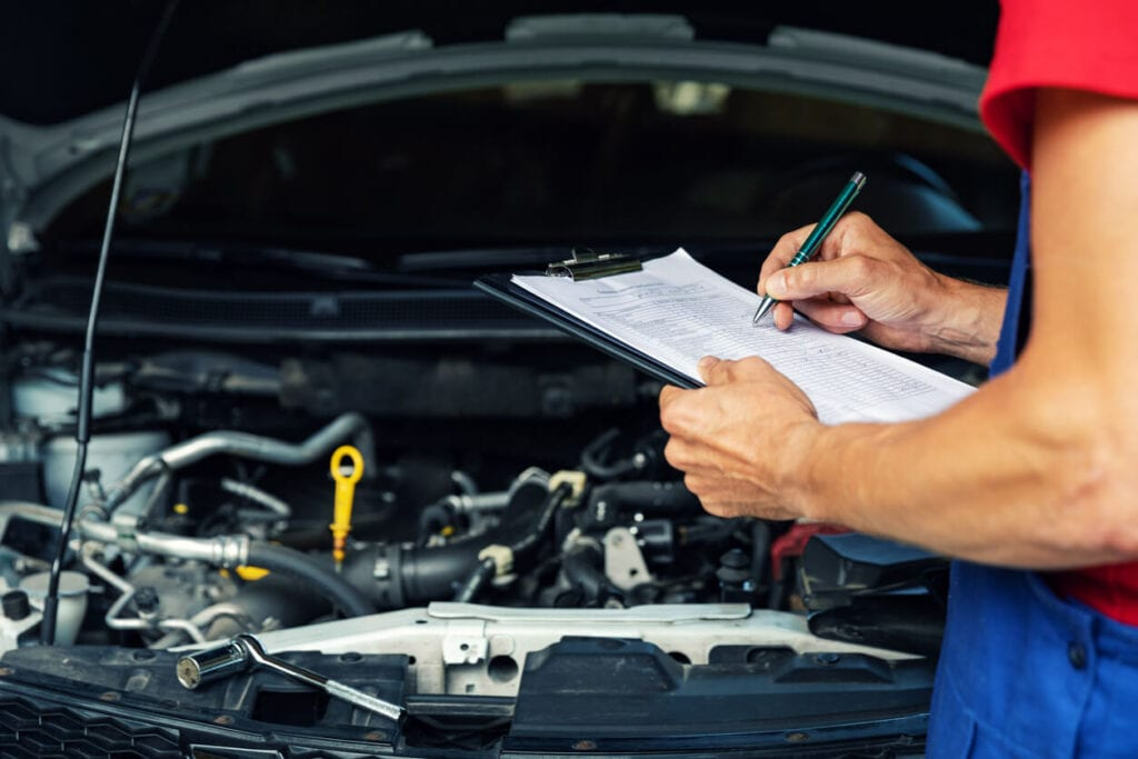 How Long does it take for a vehicle inspection?